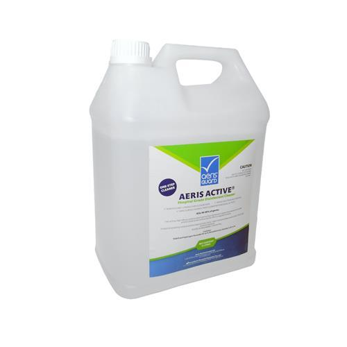 HOSPITAL GRADE DISINFECTANT CLEANER JERRY CAN WITH SELF-VENTING CAP 5 LITRE product photo