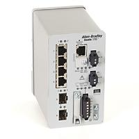 STRATIX 5700 4 FAST ETHERNET 2 SFP SLOTS FULL SOFTWARE product photo Back View L