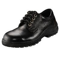 SAFETY SHOE LOW CUT WITHOUT STEEL MIDSOLE BLACK product photo Back View L