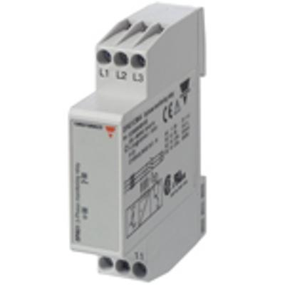 MONITORING RELAY 3 PHASE 208-480VAC product photo Back View L