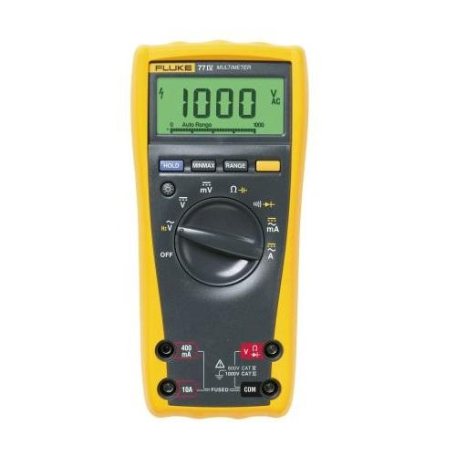 INDUSTRIAL MULTIMETER, 1000V CAT III product photo Front View L