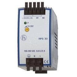 RPS 30 DIN RAIL POWER SUPPLY UNIT 24VDC product photo Front View L