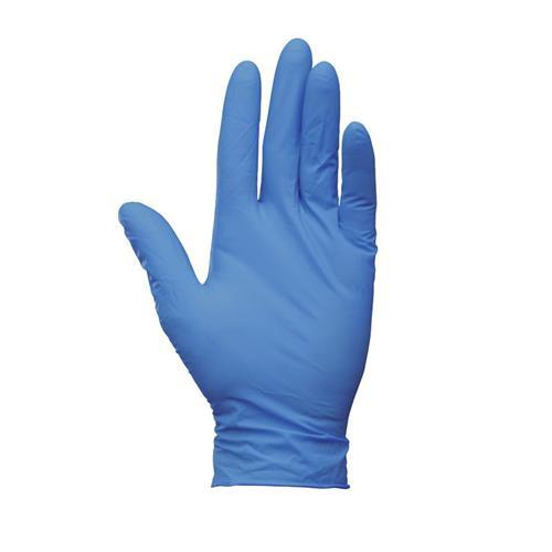 KLEENGUARD™ G10 ARCTIC BLUE NITRILE GLOVES SIZE L (2000PCS/CTN) product photo Front View L