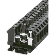 FUSE MODULAR TERMINAL BLOCK - ST 4-HESI (5X20) product photo Front View L