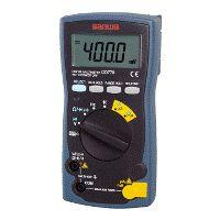DIGITAL MULTIMETERS STANDARD TYPE 3-3/4 DIGITS 4000 COUNT product photo Back View L