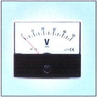 BE-96 AC VOLTMETER 96X96MM 500V product photo Back View L
