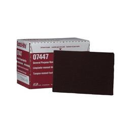 7447 GENERAL PURPOSE HAND PAD 152.4MM X 228.6MM MAROON product photo