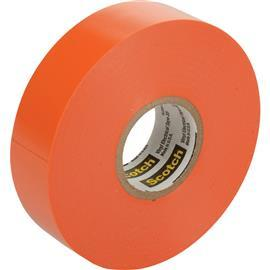 35 SCOTCH VINYL ELECTRICAL TAPE 19MM X 20M ORANGE product photo