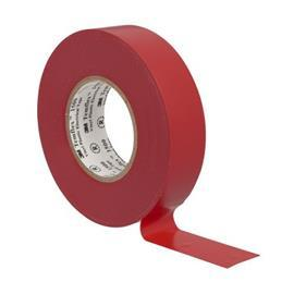 1710 VINYL ELECTRICAL TAPE 18MM X 10M RED product photo