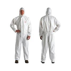 4510 DISPOSABLE PROTECTIVE COVERALL SIZE XL WHITE product photo