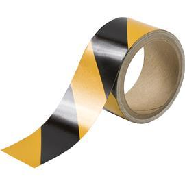 "B957 STRIPED REFLECTIVE TAPE 2""X5YDS BLACK/YELLOW product photo"