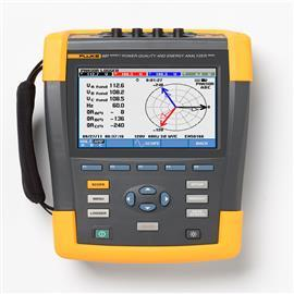 POWER QUALITY & ENERGY ANALYZER 400HZ W/O CLAMPS product photo