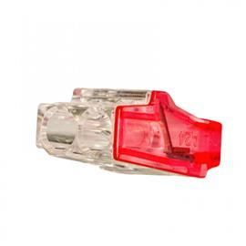 MINIPRO PUSH IN WIRE CONNECTORS 2 POLES RED product photo