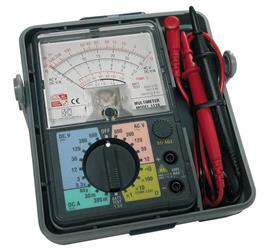 ANALOGUE MULTIMETER WITH CASE 250MA 600V product photo