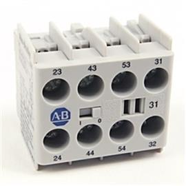 100-K AUXILIARY CONTACT BLOCK FRONT MOUNTING 2NO 2NC product photo