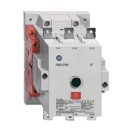 100S-D SAFETY CONTACTOR, IEC 115A 2NO 2NC GOLD PLATED product photo