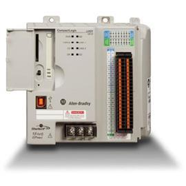 DUAL ETHERNET W/DLR CAPABILITY 1MB MEMORY 8 I/O product photo