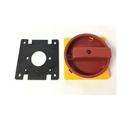 IEC CONTROL AND LOAD SWITCH ACTUATOR YELLOW/RED 90MMX90MM product photo
