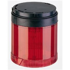 CONTROL TOWER STACK LIGHT BLACK HOUSING 24VAC/DC RED STROBE product photo