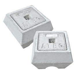 CONCRETE EARTH CHAMBER 282MM X 282MM X 282MM product photo