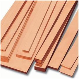 COPPER FLAT BAR 40MM X 6MM X 6M product photo