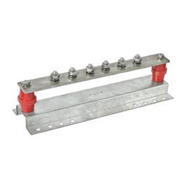 MAIN GROUND BAR 8 WAY C/W 1 DISCONN LINK 40MMX6MMX420MM product photo