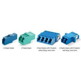 FIBER ADAPTOR LC SINGLEMODE SIMPLEX product photo