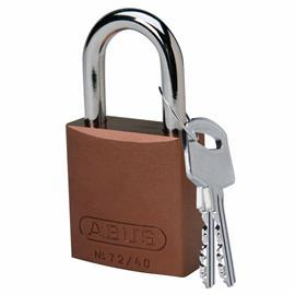 "ABUS ALUMINIUM PADLOCK 1.0"" SHACKLE BROWN product photo"