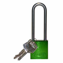 "ALUMINUM LOCK 3"" KD GREEN product photo"