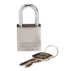 COMPACT ALUM PADLOCK SILVER KD product photo