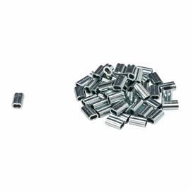 "ZINC WIRE CLAMPS 0.25""X0.375"" SIL product photo"