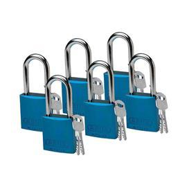 "ABUS ALUM PADLOCK 1.5"" KD BLUE product photo"