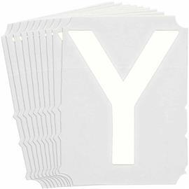 B933 Y LABELS WHITE GOTH QA 10-PACK product photo