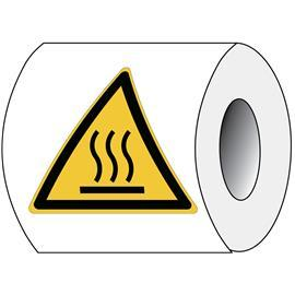SAFETY STICKER HOT SURFACE product photo
