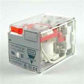 INDUSTRIAL RELAY RCP TYPE MONOSTABLE 8PIN 10A DPDT 230VAC product photo