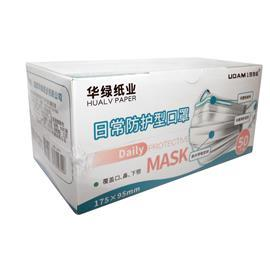 DISPOSABLE FACE MASK 3PLY (1 BOX = 50 PIECES) product photo
