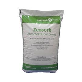 ZEOSORB ABSORBENT FLOOR SWEEPS 10KG PER BAG product photo