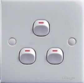 FLUSH SWITCH 3G 1W product photo