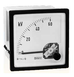 AC AMMETER 96MM X 96MM 90DEG product photo