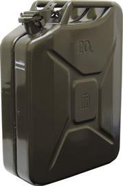 HEAVY DUTY STEEL JERRY CAN 20LTR GREEN product photo