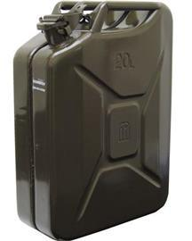 HEAVY DUTY STEEL JERRY CAN 5LTR GREEN product photo
