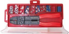 CRIMPING PLIER KIT C/W ASSORTED TERMINALS product photo