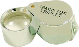 FLT15-2 TRIPLET MAGNIFYING LOUPE 10X21MM product photo