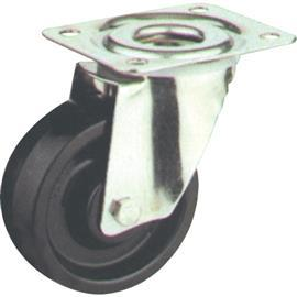 T/P SWIVEL CASTOR ZINC HI-TEMP WHEEL 100MM product photo