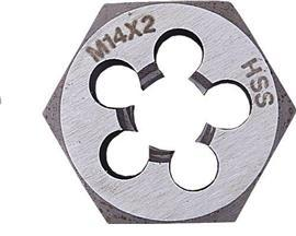 HSS HEXAGON DIE NUT 12X1.75MM product photo