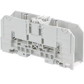 D120/42.FF STUD TERMINAL BLOCK FEED-THROUGH GREY product photo