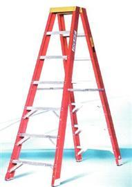 FIBREGLASS DOUBLE SIDED LADDER 12 STEPS product photo