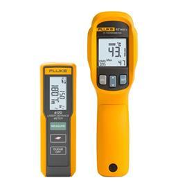 LASER DISTANCE METER/INFRARED THERMOMETER COMBO KIT product photo