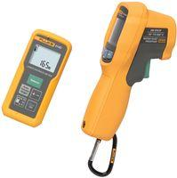 LASER DISTANCE METER AND IR THERMOMETER COMBO KIT product photo