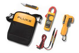 INFRARED THERMOMETER CLAMP METER & VOLTAGE DETECTOR KIT product photo